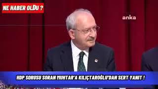 Sinop Boyabat Yaylacılı Köyü Muhtar Kılıçdaroğlu'ndan istirham etti