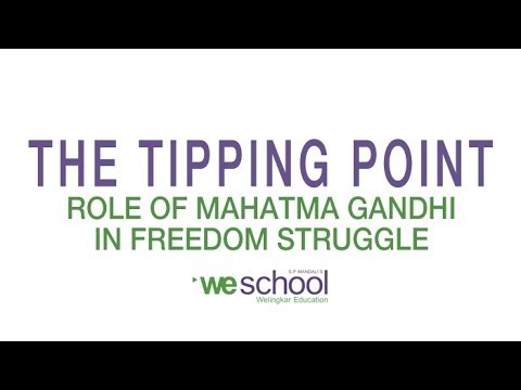 role of mahatma gandhi in india s freedom struggle Mohandas karamchand gandhi was an eminent freedom activist and an influential political leader who played a dominant role in india's struggle for independence gandhi is known by different names, such as mahatma (a great soul), bapuji (endearment for father in gujarati) and father of the nation.