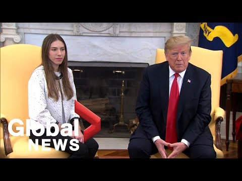 Venezuela Crisis: Donald Trump welcomes Juan Guaido's wife to White House