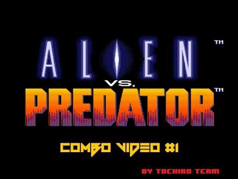 Old CV Collection: ALIEN VS PREDATOR (Arcade) Combo Video