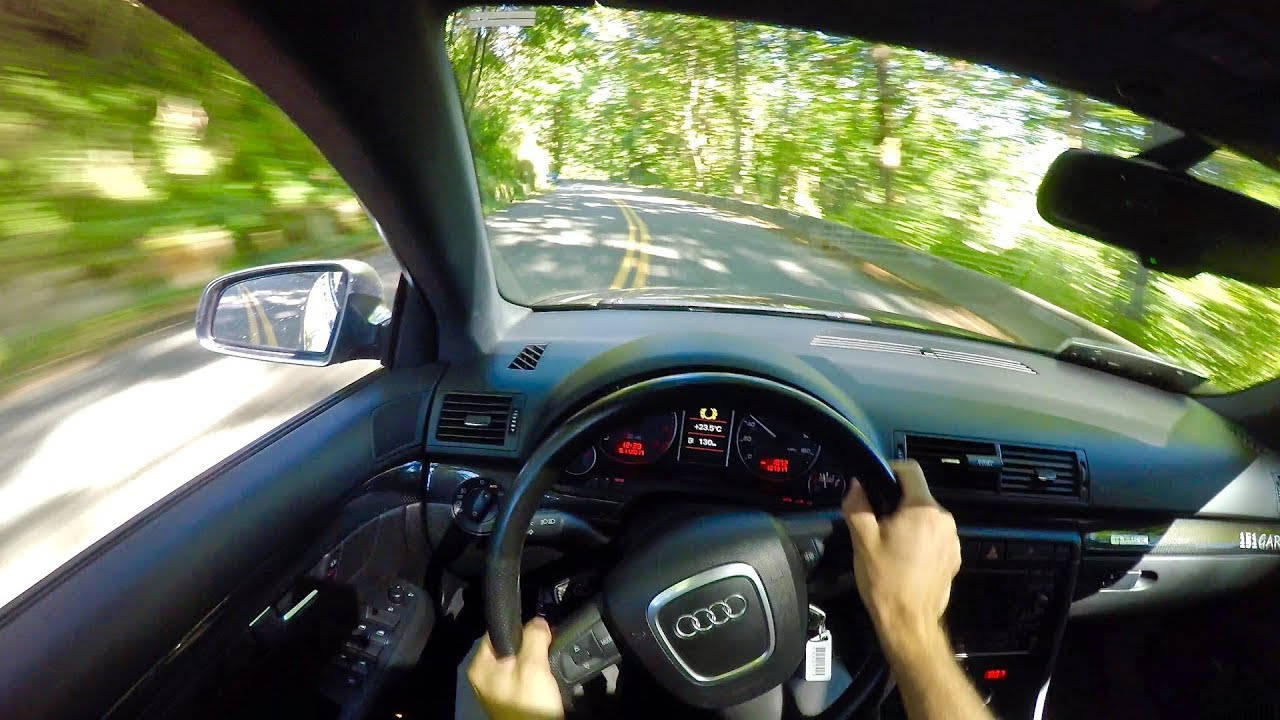 Behind The Wheel Of A Tuned Audi S4 B7 Youtube