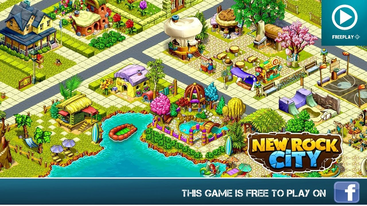 New Rock City Spiel