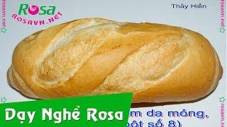 Bánh mì cóc Việt Nam (rỗng ruột da giòn)