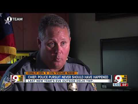 Chief: Police pursuit never should have happened WCPO Investigative Report