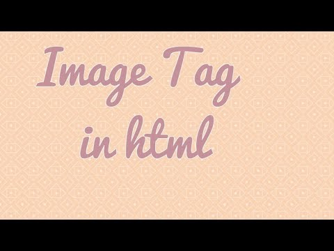 How to use Image Tag in html