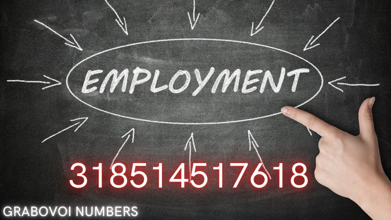 Grabovoi Numbers - Employment - 318514517618