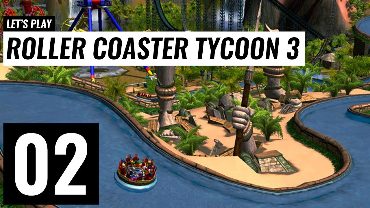 Let's Play: Roller Coaster Tycoon 3 Platinum - Mac - Ep 2 - YouTube