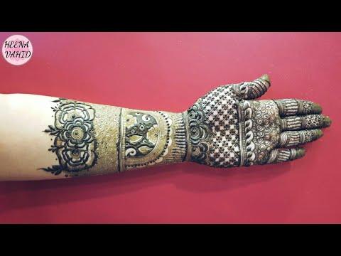 Heena Vahid S Ramazan Special Mehndi Design 4 2018 Heena Vahid