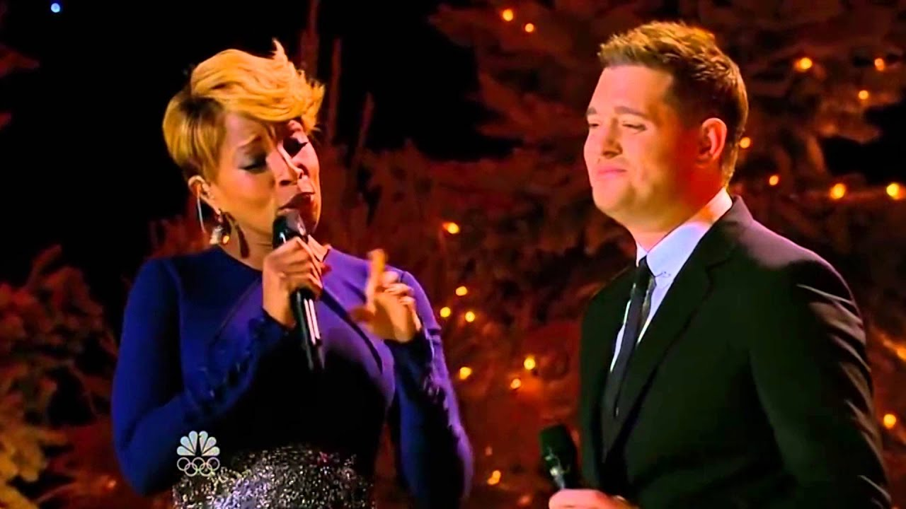 Michael Bublé & Mary J Blige - The Christmas song - YouTube