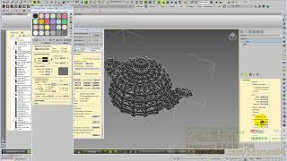 3D MAX와이어프레임렌더링