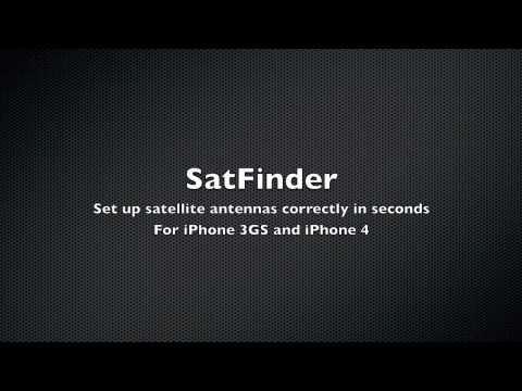 SatFinder for iPhone