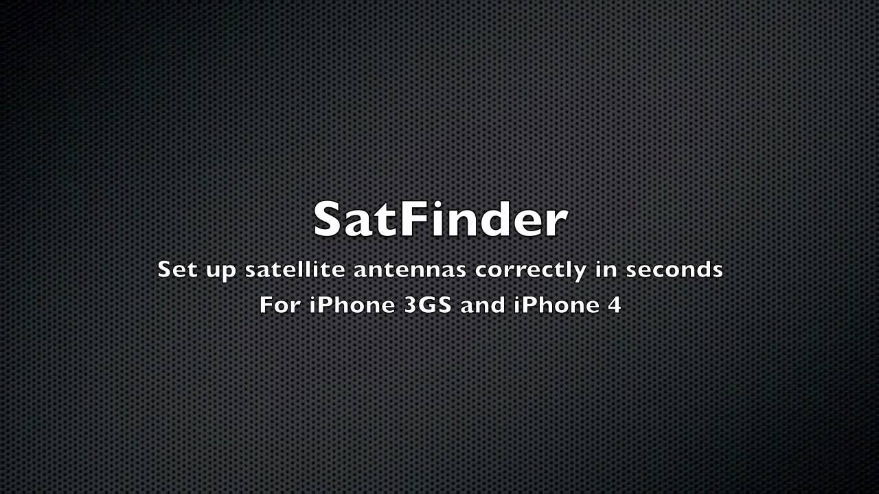 AUGMENTED SATELLITE FINDER BAIXAR DISHPOINTER REALITY IPHONE