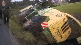 wypadki przy pracy 03 maszyny rolnicze, ciagniki, zakopane, spalone