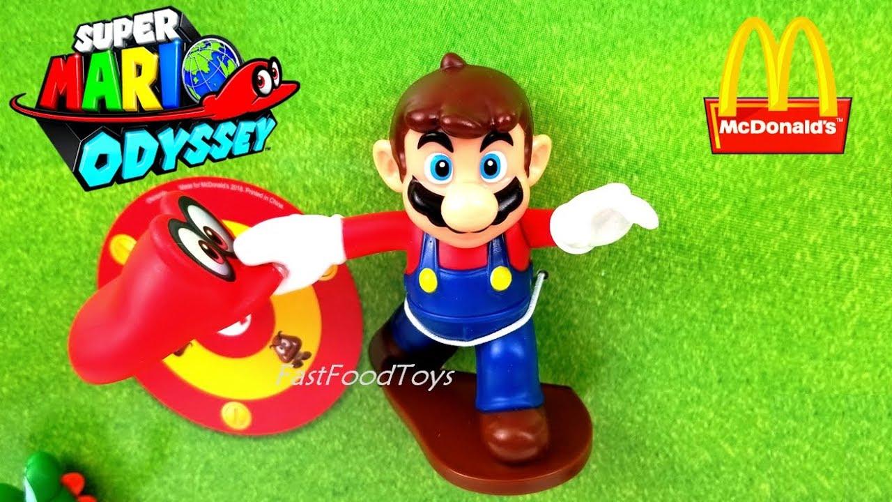 2018 Mcdonalds Nintendo Super Mario Odyssey Happy Meal