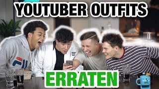 YOUTUBER AN OUTFITS ERRATEN! + JoeysJungle, CrispyRob & Dillan White | Kilian