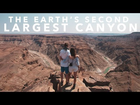 THIS IS THE EARTH'S 2ND LARGEST CANYON | Namibia Road Trip