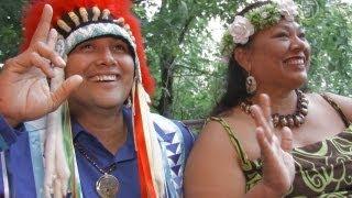 Индейский вождь передал украинцам «дух свободы» (новости)