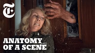 Watch  'Halloween''s Jamie Lee Curtis Face Michael Myers Again | Anatomy of a Scene