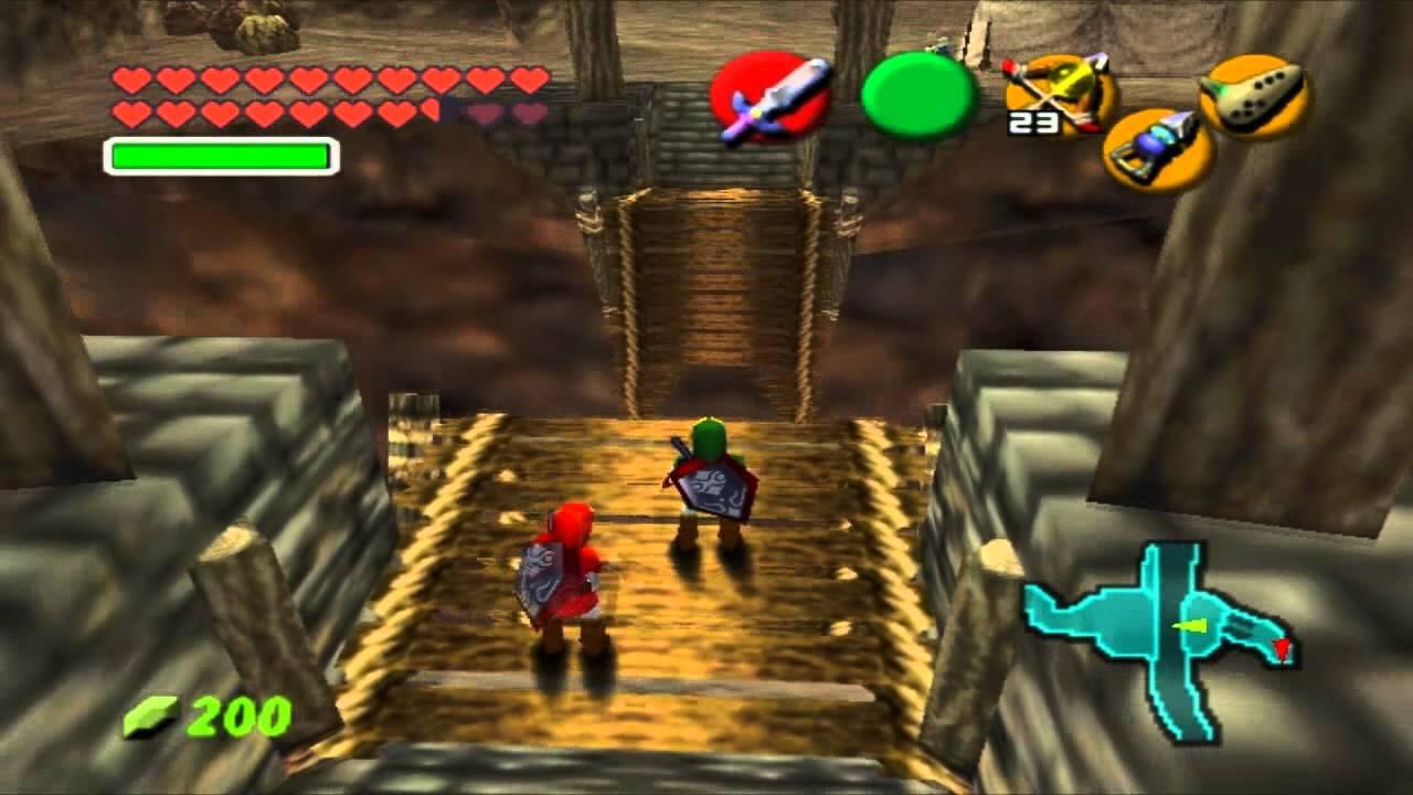 The Legend Of Zelda Ocarina Time Games Online Free