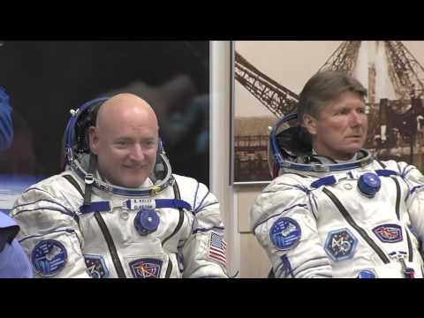 Launch Day For New ISS Crew