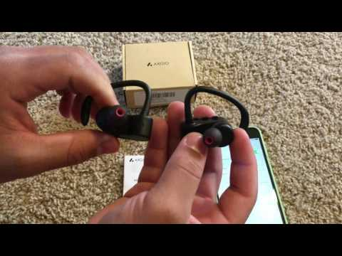 How To Pair Axgio Bluetooth Earbuds/Headphones With IPhone (1080p)