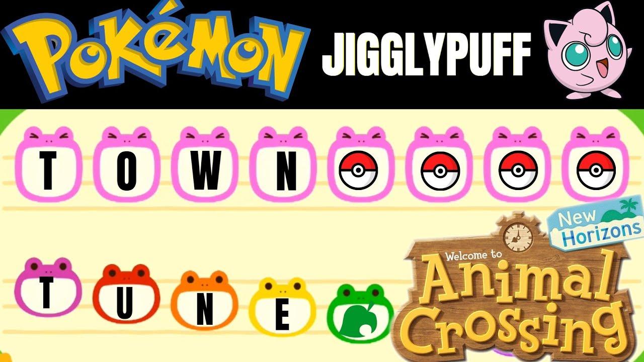 Pokemon Jigglypuff Song Animal Crossing New Horizons New Leaf Youtube