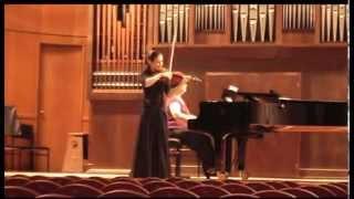 "Camille Saint-Saëns ""Introduction and Rondo Capriccioso"", Anna Rakita - violin"