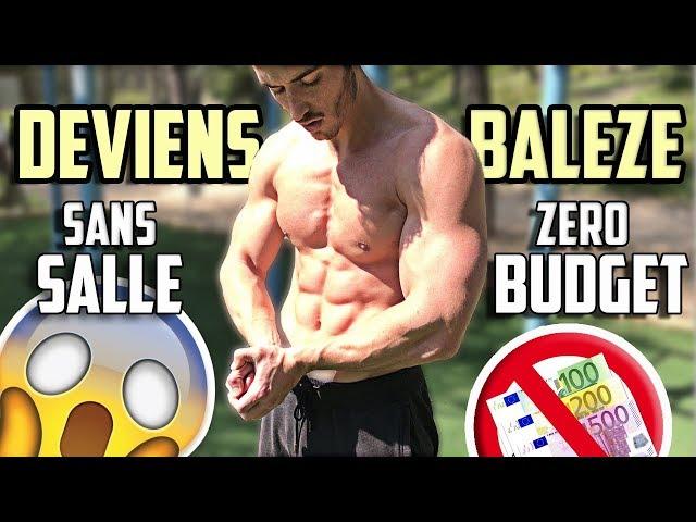 PAS BESOIN DE SALLE POUR SE MUSCLER (Mon Programme Complet)