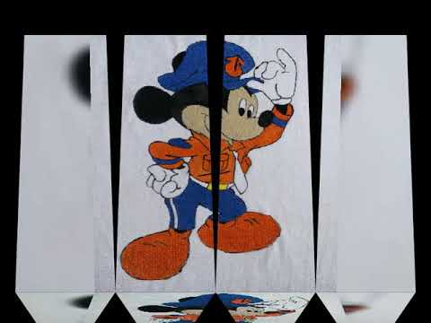 how-to-paint-mickey-mouse-on-t-shirt-|-acrylic-paint-|-fabric-paint-17-04-2019