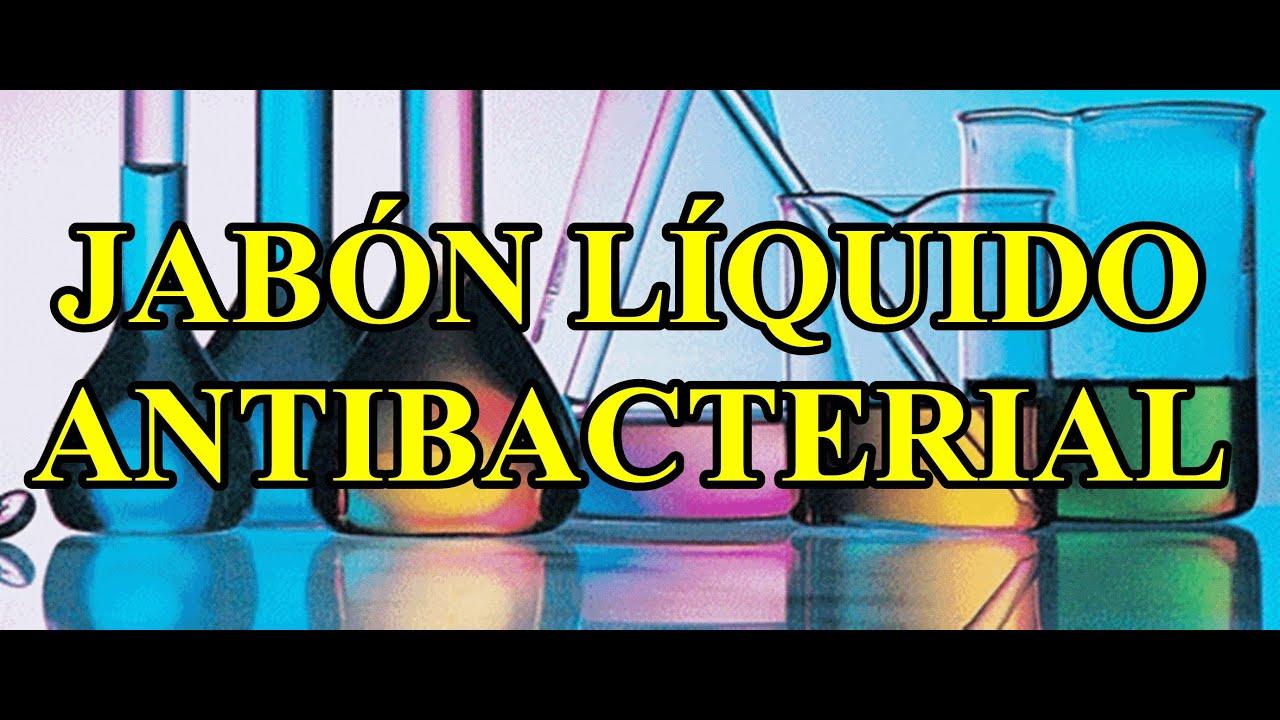 Formulas gratis jab n l quido antibacterial youtube - Formula para hacer jabon casero ...