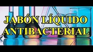formulas gratis jabón líquido antibacterial