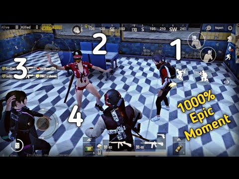 Crazy Team up with 4 Indian player in solo match Pubg mobile|epic moment |Pubg mobile Hindi Gameplay