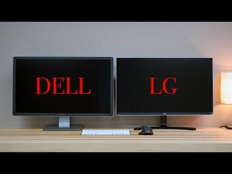 Affordable 4K Editing Monitor Comparison - Dell VS LG