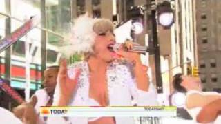 LADY GAGA on THE TODAY SHOW 2010 (Bad Romance/Alejandro)