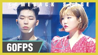60FPS 1080P | AKMU - How can I love the heartbreak, you`re the one I love, Show! Music Core 20190928