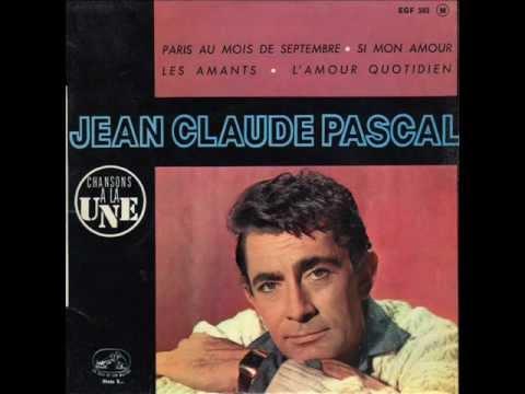 Jean Claude Pascal ♫ Paris au mois de septembre ♫