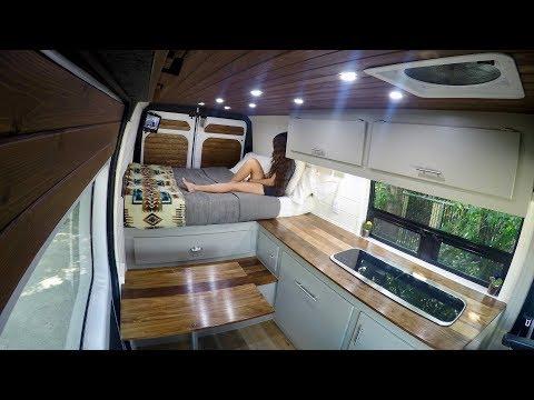 Master Carpenter Builds Stunning Van Conversion | Van Tour