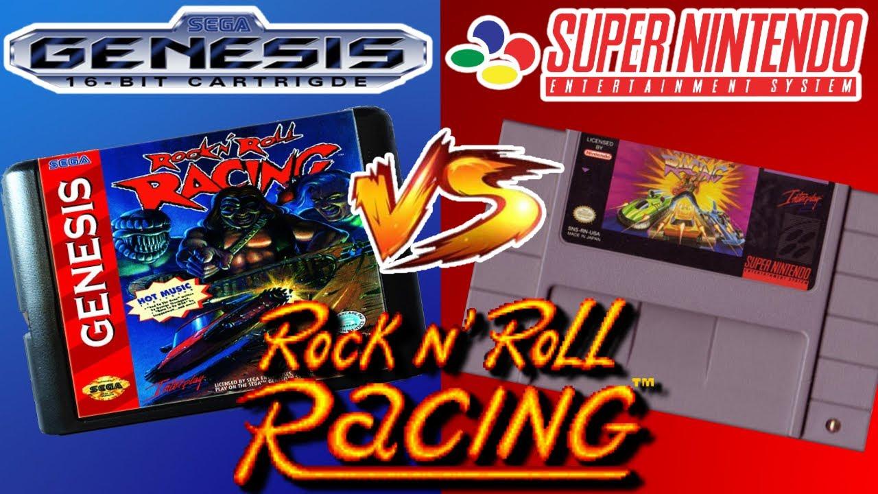 ROCK N' ROLL RACING!!! ¿Cual de las 2 versiones fue la mejor? (SEGA Genesis VS Super Nintendo)