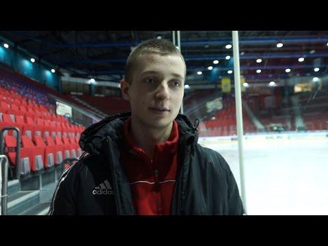 Роман Ивашов - о первой шайбе в КХЛ