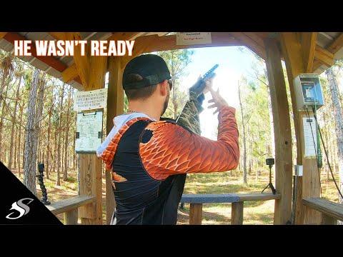 Fishhawk Sporting Clays - He Wasn't Ready