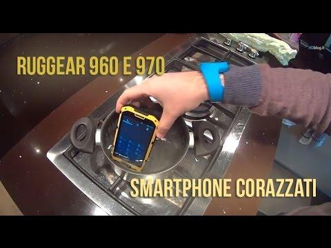 RugGear 960 e 970 smartphone corazzati. la recensione di HDblog