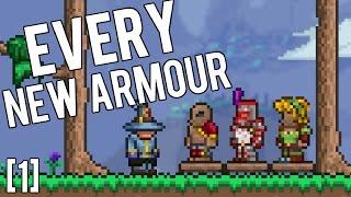 Terraria 1.3.4 - Every New Armour! [1] Apprentice Armour, Hunter Armour, Squire Armour, Monk Armour