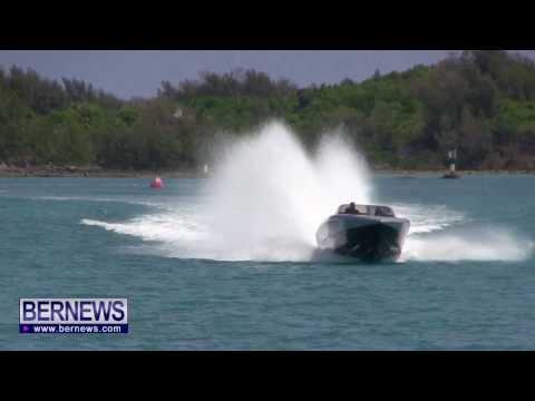 Ride On Bermuda Challenge Record Breaking Boat, Aug 22 2013