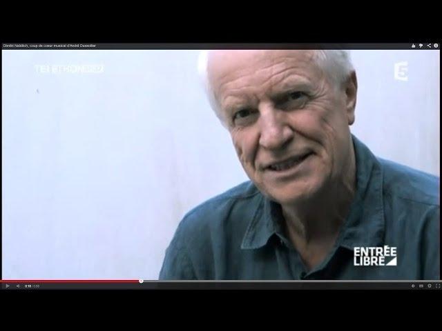 Dimitri Naïditch, coup de coeur musical d'André Dussollier