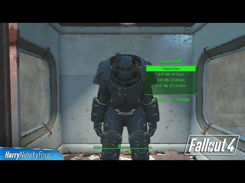 Fallout 4 - Full X-01 Power Armor Set Location (Best Power Armor)