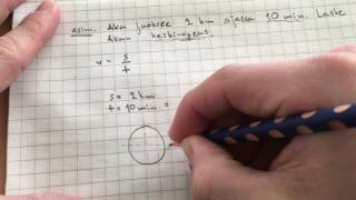 fysiikka yläkoulu: nopeus tasaisessa liikkeessä laskuesimerkki
