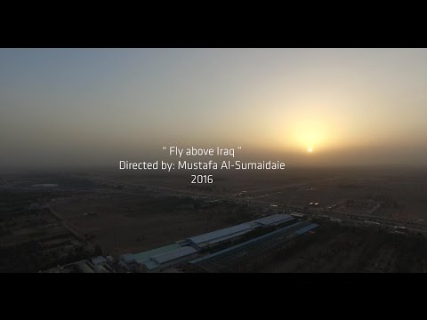 Fly Above Iraq shoot with 4K Camera