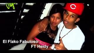 El Flako Fabuloso--Historia De Amor-- FT Heidy 2013 ((By:Jugando Studio))