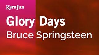 Karaoke Glory Days - Bruce Springsteen *
