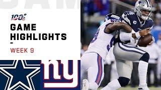 cowboys-vs-giants-week-9-highlights-nfl-2019